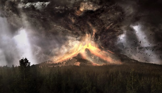 Vulcano-Errupting-under-Burning-Skies