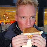 nothing beats hot syrupwafles in Den Haag, Zuid Holland, Netherlands