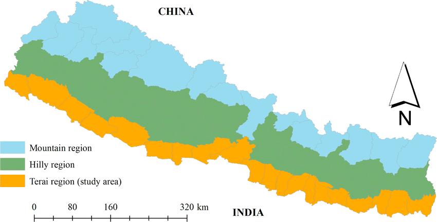 नेपालको भौगोलिक परिचय