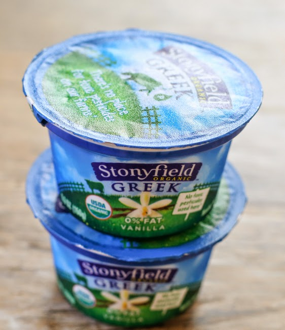 Stonyfield Organic Greek Yogurt Giveaway