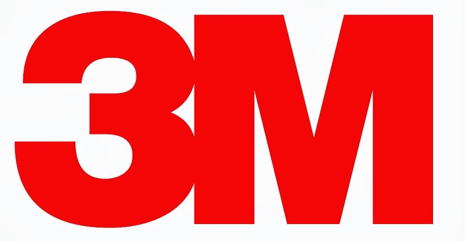 logotipo de 3M rojo grande