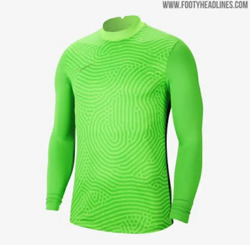 gambar render bocoran jersey kiper nike musim 2020-2021