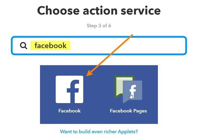 servizio-facebook-ifttt