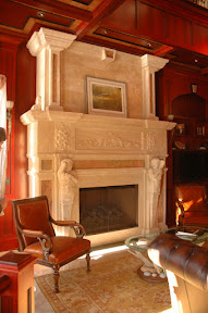 Fireplace, Interior, Overmantels