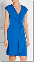 Michael Michael Kors wrap effect stretch jersey dress