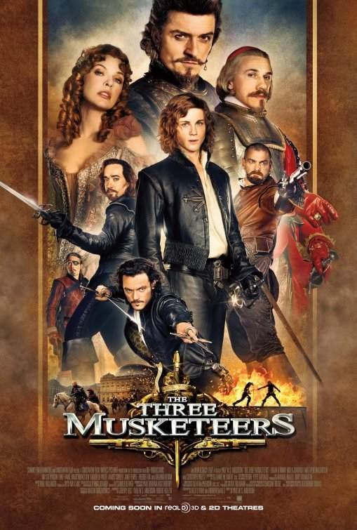 Poster Of The Three Musketeers (2011) Full Movie Hindi Dubbed Free Download Watch Online At alldownloads4u.com