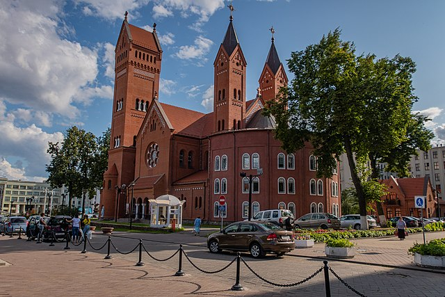 Church of Saints Simon and Helena, Minsk, Belarus