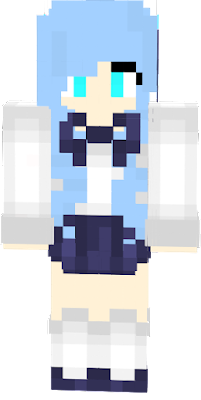 Here is Sapphire! A Blue haired fox girl prepared for school! +-+ Hope you like it! -SaffhireFox