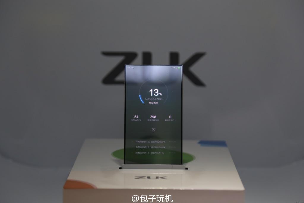 Nguyên mẫu smartphone màn hình trong suốt 1