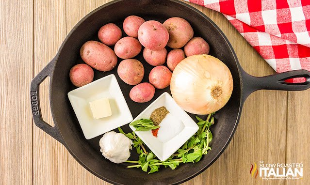 Smoked Red Potatoes ingredients