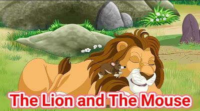 The Lion And The Mouse Full Story In English