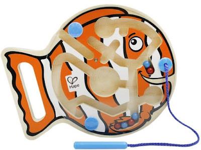 Đồ chơi Mê cung Cá ngộ nghĩnh Hape Go-Fish-Go