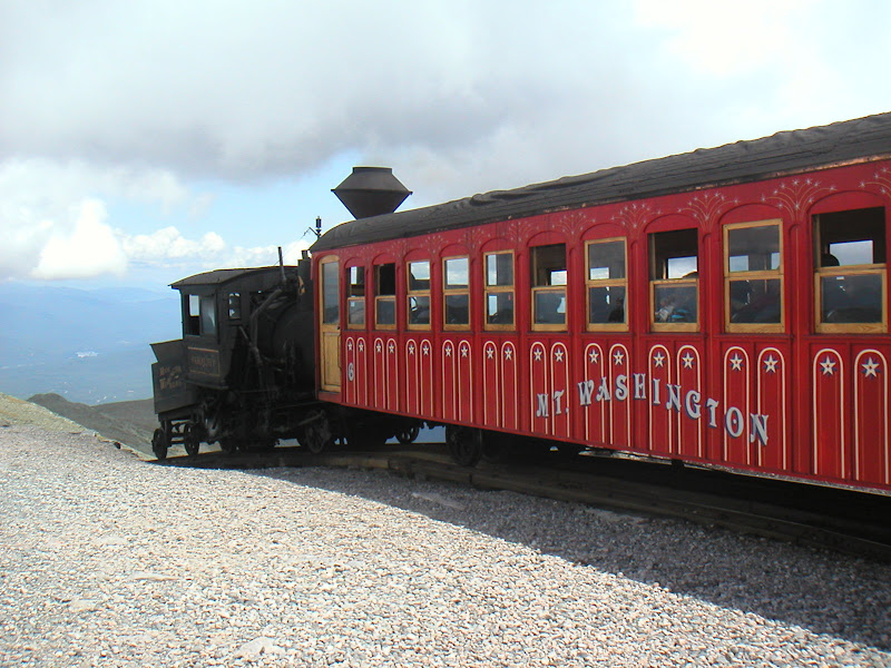 Mount Washington Hillclimb • Cog Railway