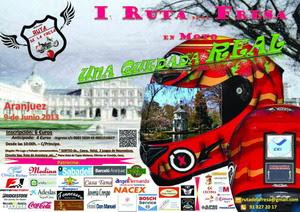 Cartel I Ruta de la Fresa 2013