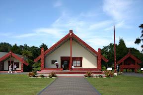 Maori village at Te Puia