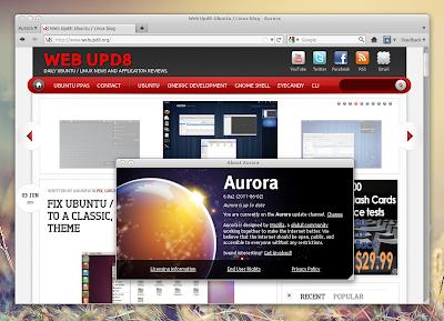 Firefox Aurora Channel PPA