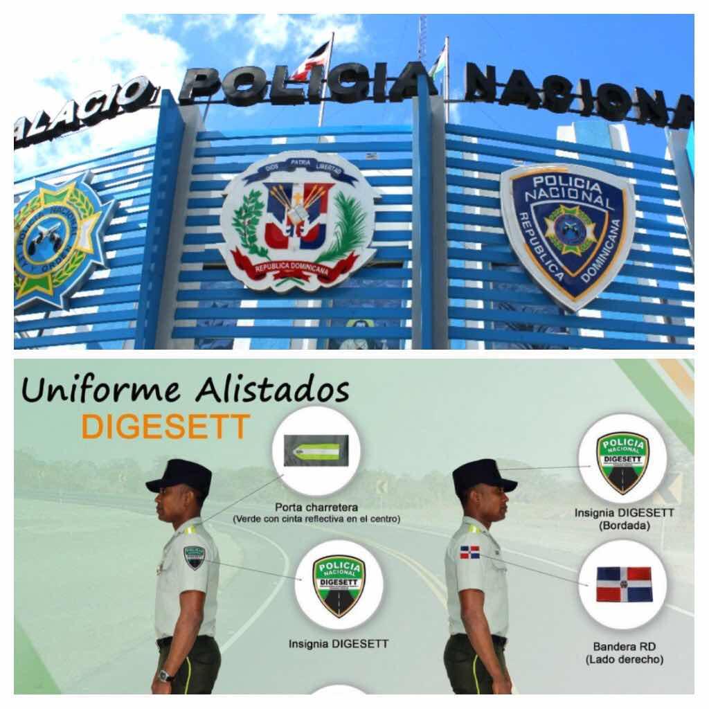 DIGESETT y Policía Nacional desmienten sea su agente hombre disparó contra neumático de un vehículo