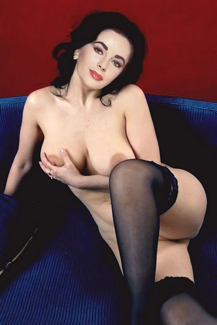 Elizabeth Taylor Nude Naked Topless Big Boobs
