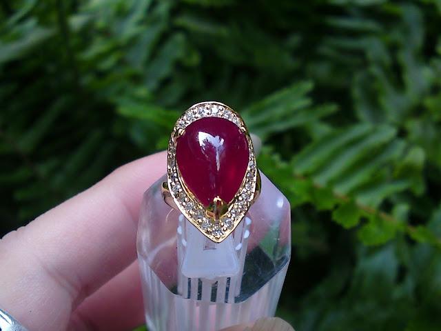 Nhẫn Ruby thiên nhiên
