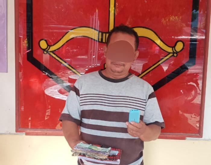 Polsek Perdagangan Ringkus Jurtul Judi Togel di Warung Lolo Nababan