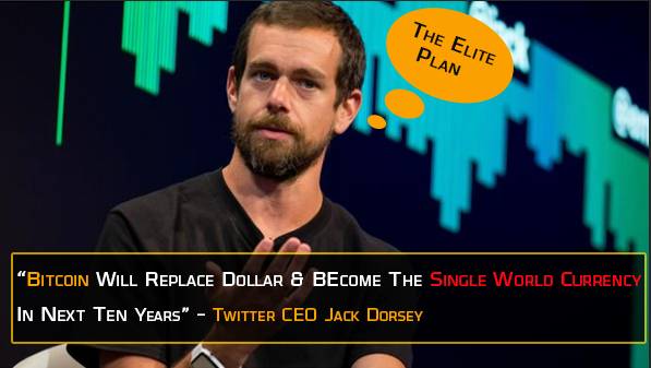 Bitcoin is One World Order Currency says Twitter CEO