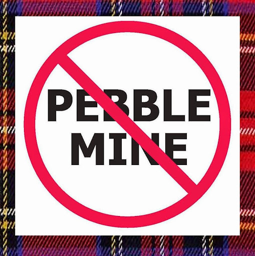 No Pebble Mine Logo Copyright Little Bear Productions #LittleBearProd