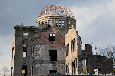 Hiroshima, l'unico edificio superstite