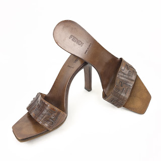 Fendi Monogram Sandals