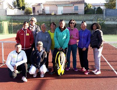 Équipe Championnat Dames/ Servian