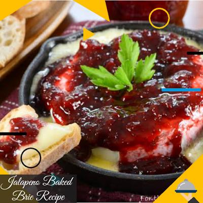 Jalapeno baked brie Recipe