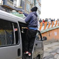 Transporte público en El Alto