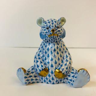 Herend Porcelain Bear