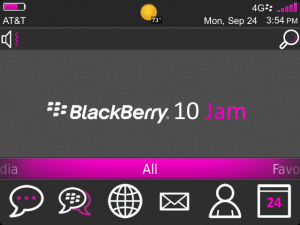 Theme Jammin (9790 OS7) BlackBerry