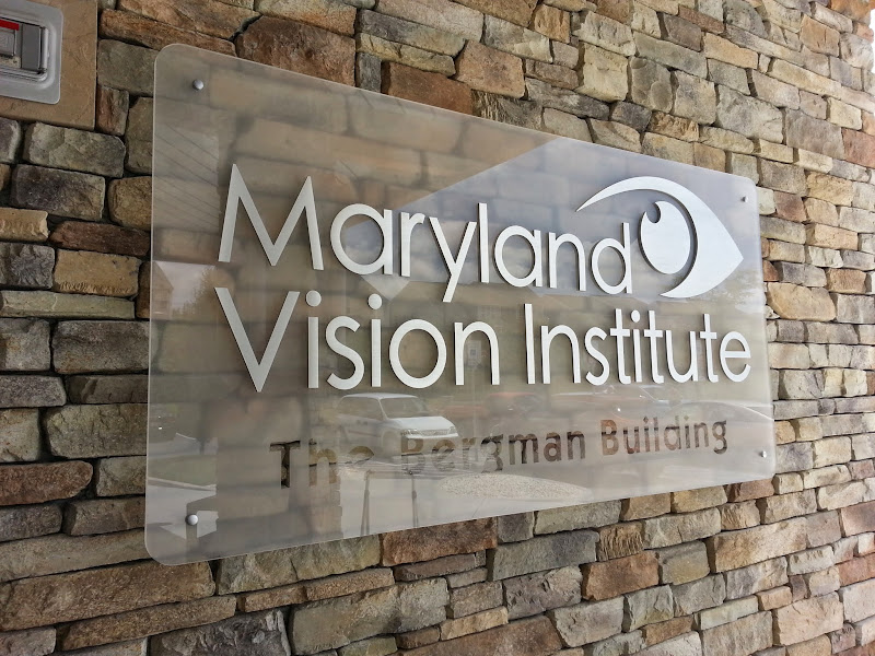 Plexiglass Sign – Maryland Vision Institute » Designs & Signs