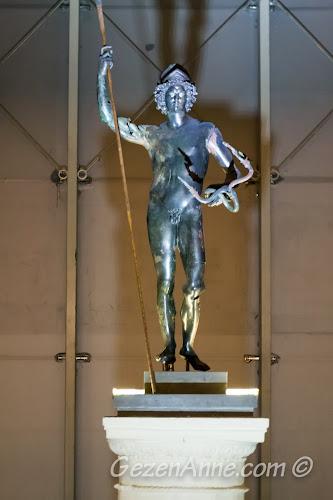 bronz Mars heykeli, Zeugma müzesi Gaziantep