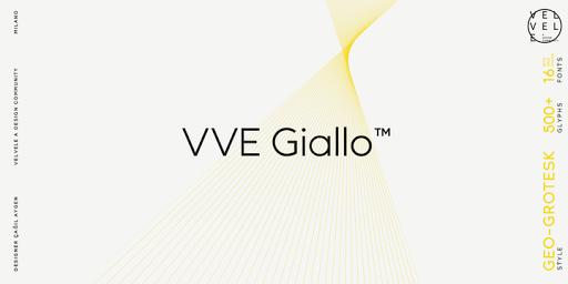Download VVE Giallo™ Fonts by Velvele Design Community