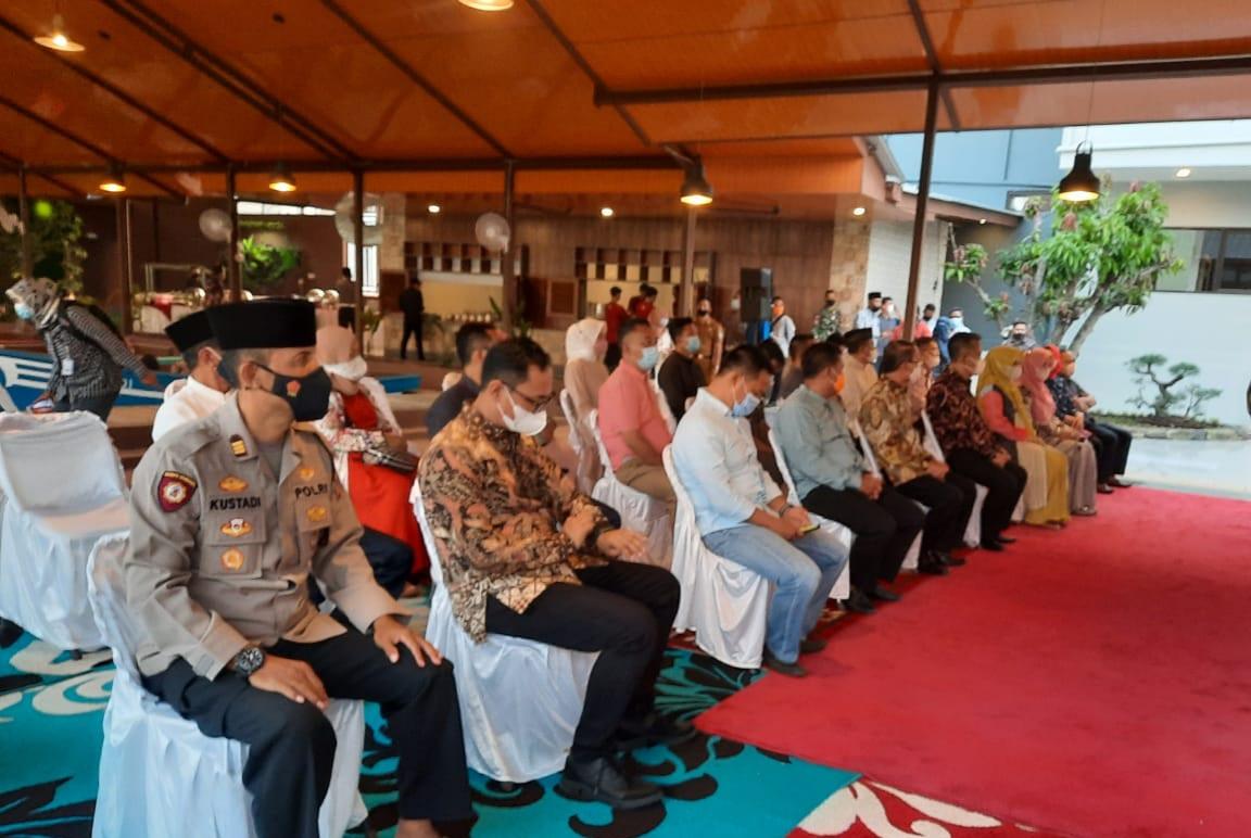 Kapolsek Majalengka Kota Hadiri Soft Opening Rumah Makan Cibiuk Alam Jaya Cafe dan Resto Majalengka