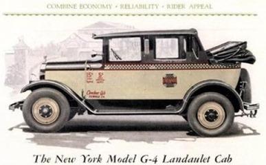 Checker 1927 Model G