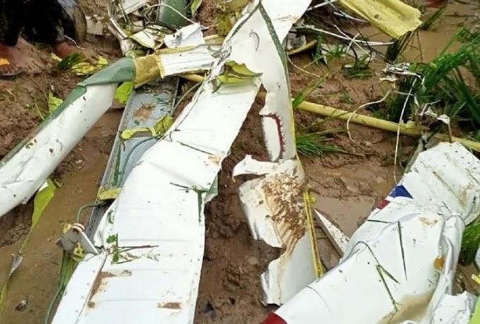 आजमगढ़ में खराब मौसम के कारण हेलिकॉप्टर क्रैश, मौके पर पायलट की मौत