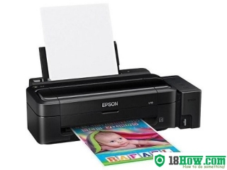 How to reset flashing lights for Epson C99 printer