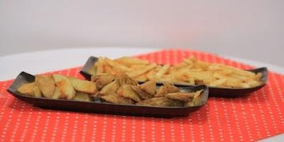 بطاطس ويدجز - غادة التلي
