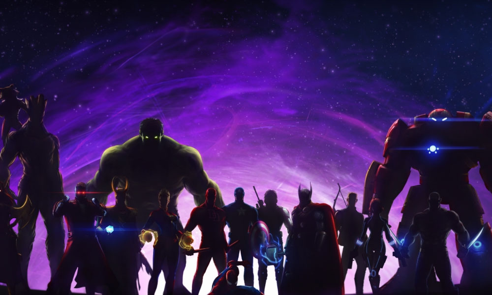 4 Hero dimension rift wajib build di Marvel Future Fight