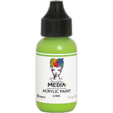 Dina Wakley Acrylic Paint 29ml - Lime