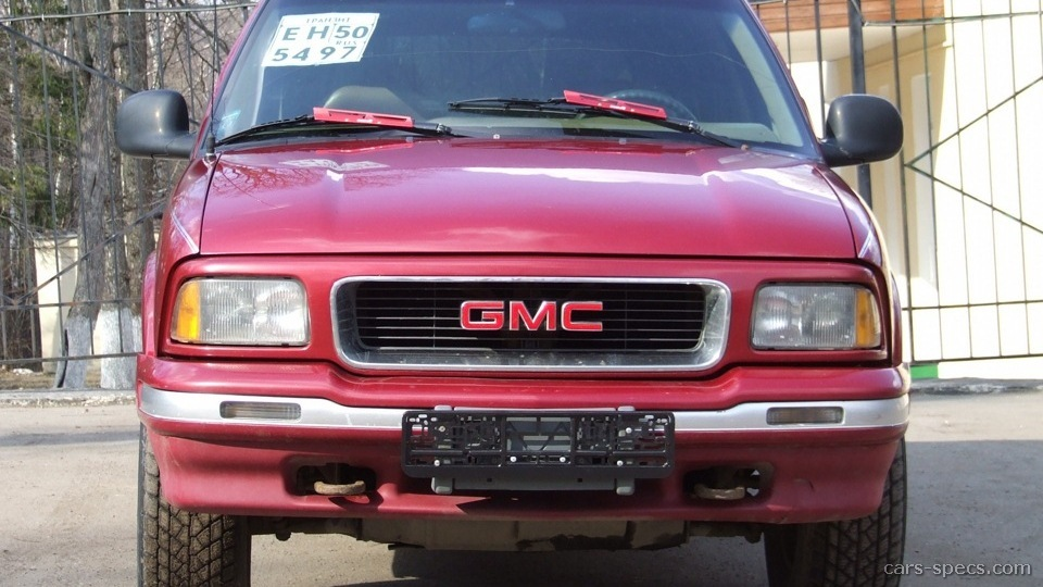 1999 GMC Jimmy SUV Specifications Pictures Prices