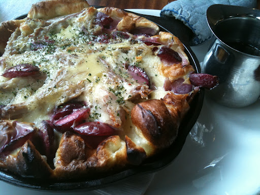 Dutch Baby with fresh fruit @ Tilikum Place Cafe [NL]