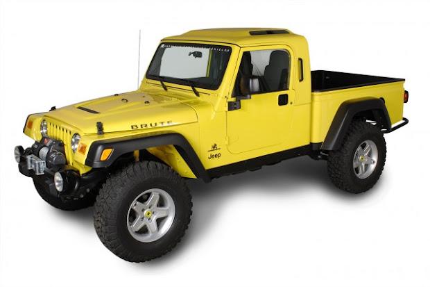 Pick Up Jeep Aev Brute Jeepmania
