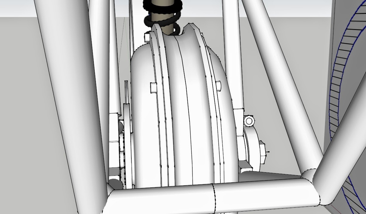Легкий миддрайв с МК в шарнире подвески (от acyd)
