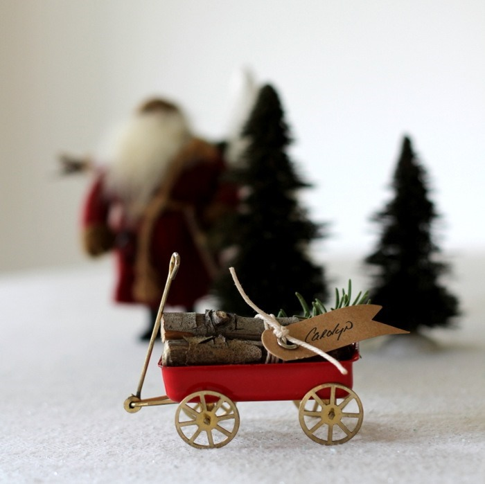 Vintage Wagon & Log Place Cards by homework (carolynshomework (6)