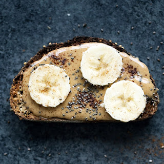 Healthy Peanut Butter Banana Toast with Chia Seeds Recipe