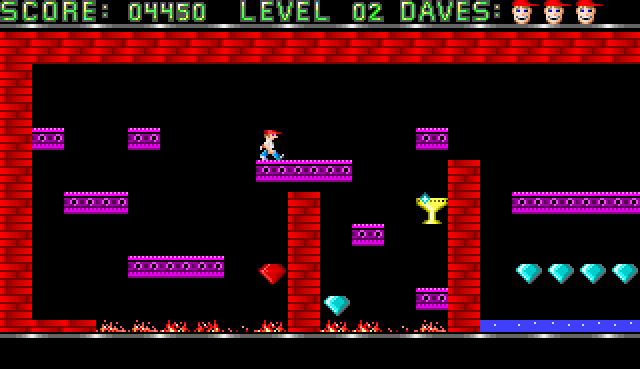 dangerous dave pc game